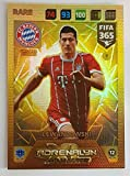 FIFA 365 2018 - Robert Lewandowski Oberteil Master Karte Selten Panini Adrenalyn XL FC Bayern München