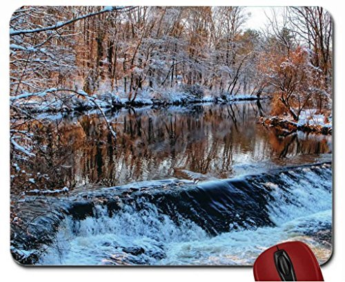 river-in-winters-threshold-mouse-pad-computer-mousepad