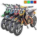 Kinder Mini Elektro Crossbike'Gepard' 500 Watt verstärkte Gabel 36 Volt Enduro Motorcrossbike Pocketbike (Orange)