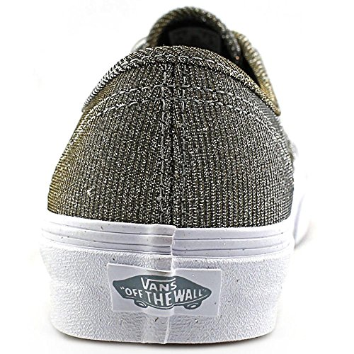 Vans U Classic Slip-on, Baskets mode mixte adulte grau/weiß ((Glitter Textile) Gy/Trwht)