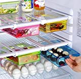 #8: Set Of 2 Pc Multi Purpose Fridge Storage Racks, Shelf For Easily Maintaining Your Extra Meals