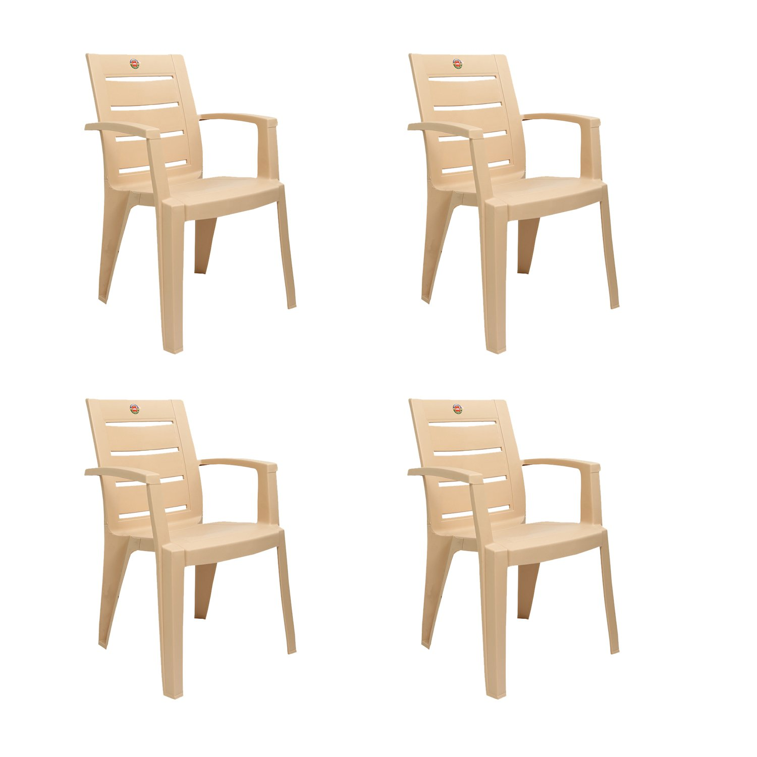 Cello Prospect Set of 4 Chairs Beige Amazon Home & Kitchen