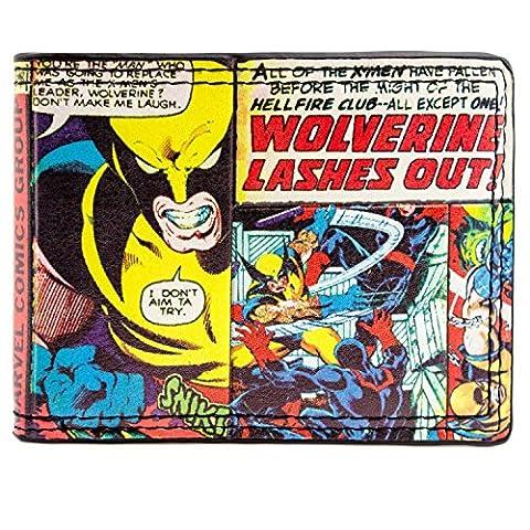 Marvel X-men Wolverine Multicoloured ID & Card Bi-Fold Wallet