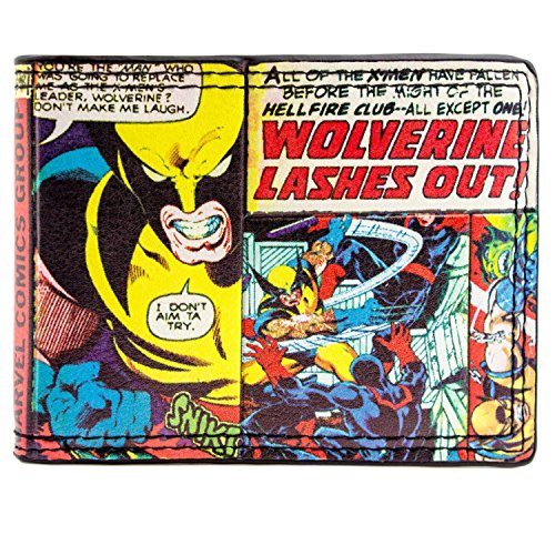 Cartera de Marvel X-men Wolverine Multicolor