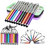 Angelina 10PCS Colorful Retractable Styl...
