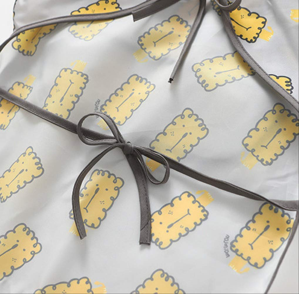 WPPKED Niños impermeable bib sin esposa impermeable con capucha bebé manga cortaimpermeable ropa de comida impermeable M… 5