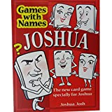 JOSHUA\'S GAME: New stocking filler for men or boys called Joshua or Josh (also a fab secret santa or fun birthday or christmas party present or special original xmas gift for the man who has everything !)