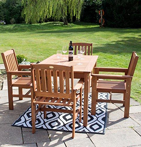 Liz Frances 4 Seater Oakham Patio Dining Set