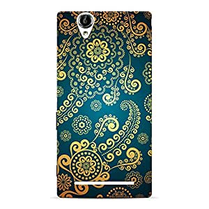 Mobile Back Cover For Sony Xperia T2 Ultra (Printed Designer Case)