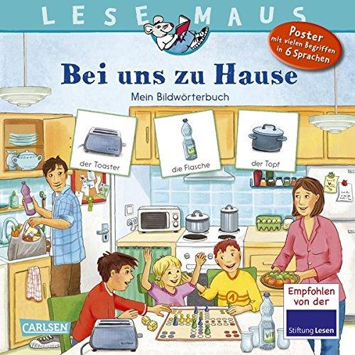 LESEMAUS 203: Bei uns zu Hause: Mein Bildwörterbuch