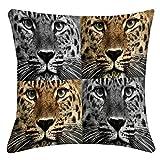 lushomes animal print decorativo digital sistema de la almohadilla de la cubierta del caso 5 - elegir el tamaño
