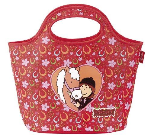 sigikid, Mädchen, Kindergartentasche Pferde Fan, Pony Sue, Rot, 23999 Schlenkertasche / Pony Sue