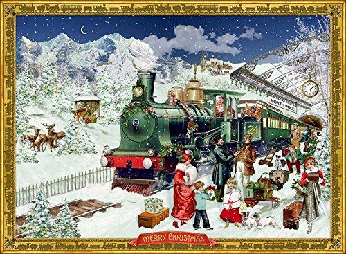 Kleiner Wandkalender - Nostalgische Eisenbahn