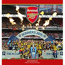 The Official Arsenal 2016 Desk Easel Calendar