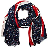 Tommy Hilfiger Damen Schal Metallic Stars Scarf, Mehrfarbig (Corporate Clrs 901), One Size