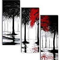 SAF Set of 3 Nature 6MM MDF UV Textured Self adesshive Painting 18 Inch X 15 Inch SANFJ182