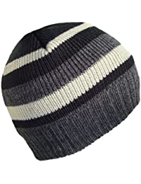 Mens / Boys Striped Beanies by Thinsulate