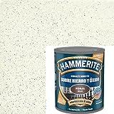 Esmalte Antioxidante Forja DIRECTO AL HIERRO HAMMERITE Blanco 750 Ml.