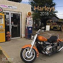 Harleys 2018 - Motorradkalender, Wandkalender Posterkalender  -  30 x 30 cm