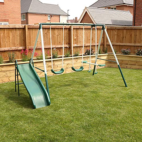 4 Piece Outdoor Kids Play Set, S...