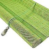 JIANFEI-Tenda di bambù Filtraggio della Luce Tenda A Rullo Controllo degli Insetti Protezione Solare, 3 Colori, 23 Taglie Personalizzabile (Colore : 2#, Dimensioni : 50x180cm)
