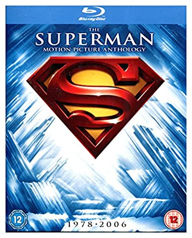 Superman: Anthology (BOX) [8Blu-Ray] [Region B] (IMPORT) (Pas de version