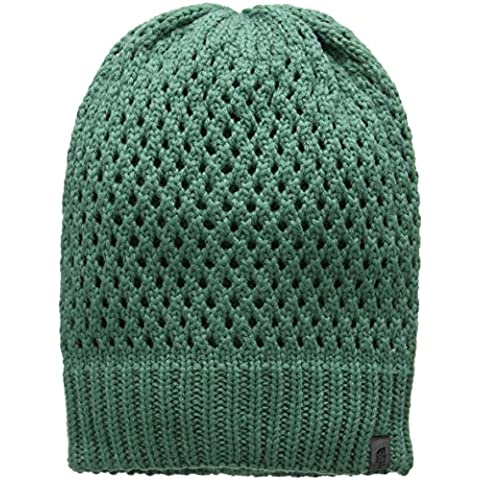 North Face Shinsky Berretto, Verde/Deep Sea, Taglia Unica