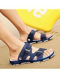 xing lin sandali uomo coppie sughero pantofole uomini sandali estate moda sandali e ciabatte infradito esterno 40 bianco + bianco Tienda Libre Del Envío gCDKz9BFh