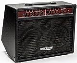AMPLI Guitare électro-acoustique noir 2 Canaux (Prise micro, Reverb et Chorus) ~ NEUF