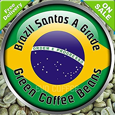 Brazil Santos Arabica Raw Green Coffee Beans Home Roasting 1kg from Evocoffee
