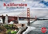 Kalifornien. Die goldene Westküste (Wandkalender 2018 DIN A4 quer): Der goldene Bundesstaat an der Westküste der USA (Geburtstagskalender, 14 Seiten ) ... [Kalender] [Apr 01, 2017] Stanzer, Elisabeth - Elisabeth Stanzer
