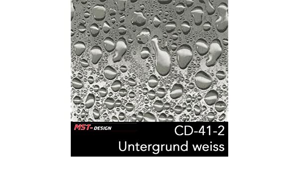 MST-Design Wassertransferdruck WTD Wassertropfen t/ürkis CD 41-1 1 m 50 cm Breite Film//Wassertransferdruckfilm WTP Water transfer printing Hydrographics