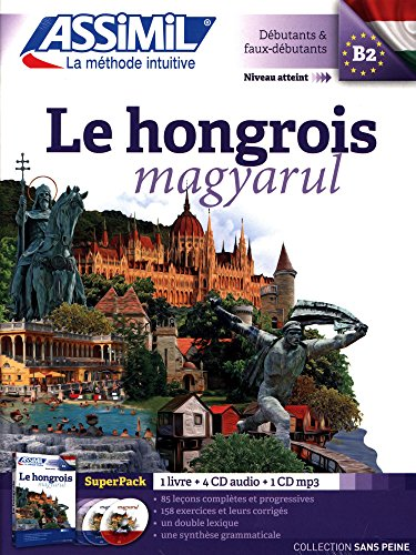 Superpack hongrois (livre+4Cd audio+1CD mp3)