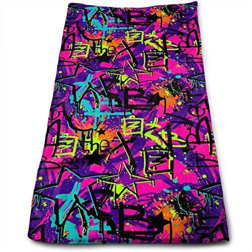 QuGujun Soft Towels Ball Pen Dandelion Design Super Soft Absorbent Sports/Beach/Shower/Pool Towel