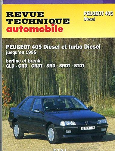pdf gratuit revue technique automobile peugeot 405 diesel t l chargement pdf. Black Bedroom Furniture Sets. Home Design Ideas