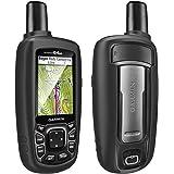 TUSITA Cas pour Garmin GPSMAP 62 62s 62st 62sc 62stc 64 64s 64st 64sc - Housse de Protection en Silicone Peau - Navigateur GPS Portable Accessoires