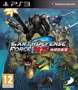NAMCO PS3 EARTH DEFENSE FORCE 2025