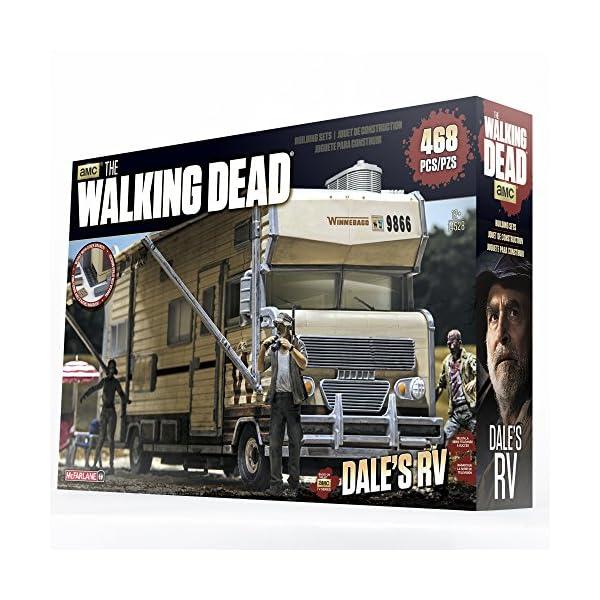 McFarlane- Puzles The Walking Dead Kit de Construcción Dale´s RV, Multicolor (MC Farlane MCF14528) 4