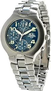 Chronotech Orologio Cronografo Quarzo Uomo con Cinturino in Acciaio Inox CT7059-03M