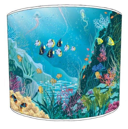 Premiere Coral (Premier Lampenschirme Deckenlampe Coral Reef Fisch Kinderlampenschirme - Durchmesser 30cm)