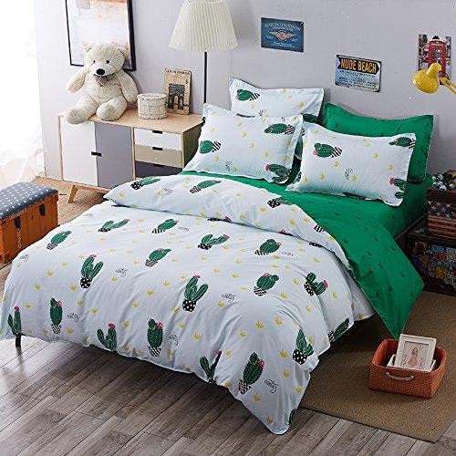 zhiyuan-cactus-pattern-duvet-cover-flat-sheet-pillowcase-set-twin-white-and-green