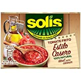 Solis Estílo Casero Tomate Frito - Pack de 3 x 100 g - Total: 300 g