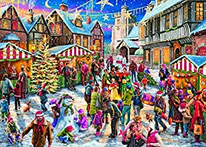 Gibsons Wrapped Up for Christmas 2017 Limited Edition Jigsaw Puzzle, 1000 piece
