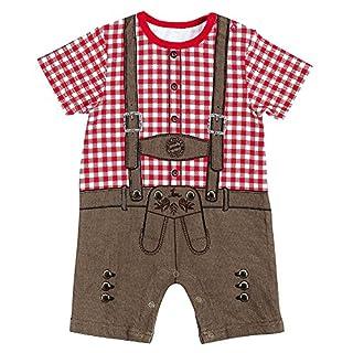 FC Bayern München Baby Body Lederhose, Einzelgrößen:68