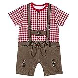 FC Bayern München Baby Body Lederhose, 62