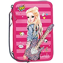 Depesche 784 estuche 3 Compartimento TOPModel, Pop Star Guitarra, color rosa