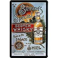 Blechschilder Sammeln & Seltenes Glenfiddich Scotch Whisky Whiskey Blechschild 20 x 30 Retro Blech 678