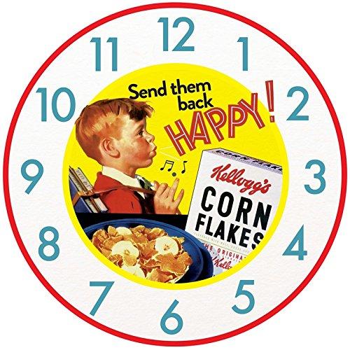 tirquin-retro-vintage-kelloggs-happy-cornflakes-boy-wall-clock-50cm-kc10150