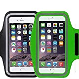 [2 Pack]Premium Water Resistant Sports Armband, CaseHQ with Key Holder Running for iPhone 7 6 6S Plus,Galaxy S6/S5 S7 iPhone 6s/6 7 plus(5.5 Inch) with Water Resitant Extra Extension Band