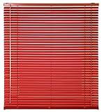 Estores Basic- Persiana Veneciana Aluminio,  Rojo, 90x175 cm